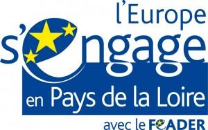 Logo couleur Europe en Pays de Loire FEADER