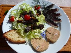 foie gras cuisiné soudan